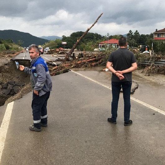 Bartın'da sel felaketi: Bir can kaybı bir de kayıp var