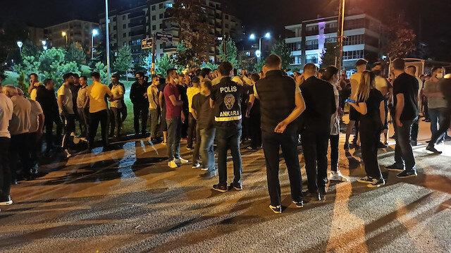 Ankara Emniyeti'nden Altındağ'daki olayla ilgili açıklama: 76 kişi gözaltında