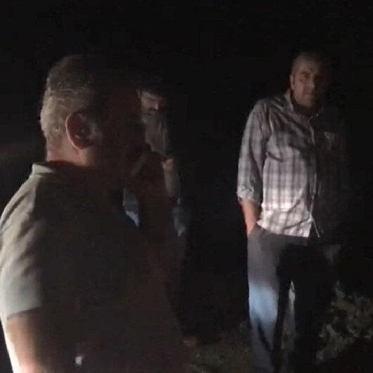Artvin'de heyelan: Kız istemeye giden 11 kişilik aile mahsur kaldı