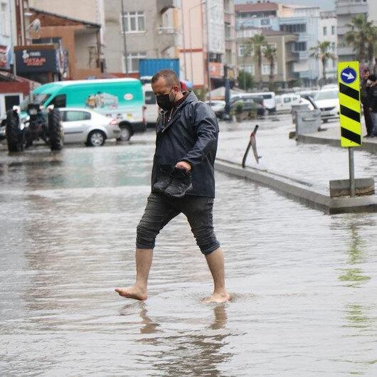 Meteoroloji açıkladı: Metrekareye 125 kilogram yağış düştü