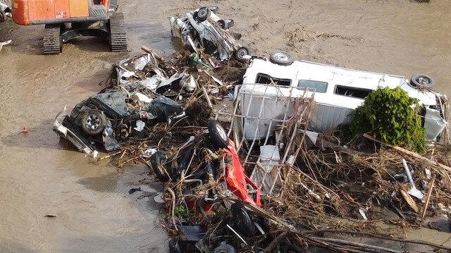 Kastamonu, Sinop ve Bartın'daki sel felaketinde can kaybı 58'e yükseldi