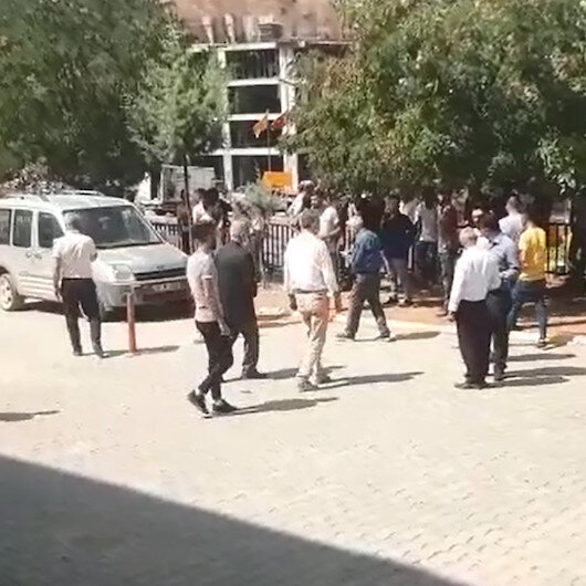 Şırnak'ta bahçe duvarının yıkımı sırasında patlama: 3 yaralı