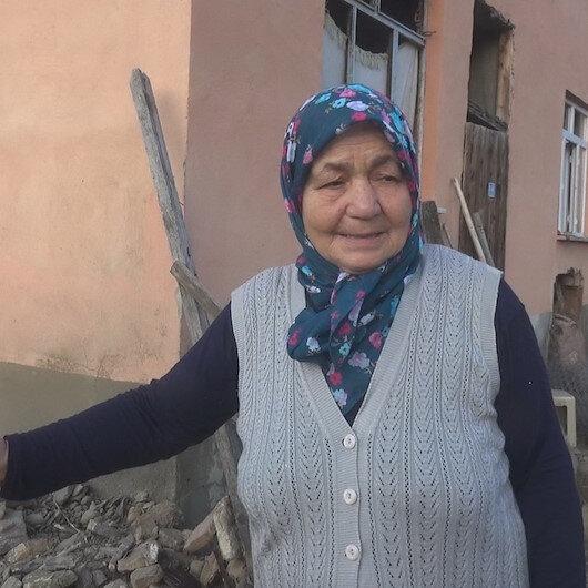 Yaşlı çift sel dehşetini korku dolu gözlerle anlattı: Bu yaşa geldim hiç böyle bir şey yaşamadım