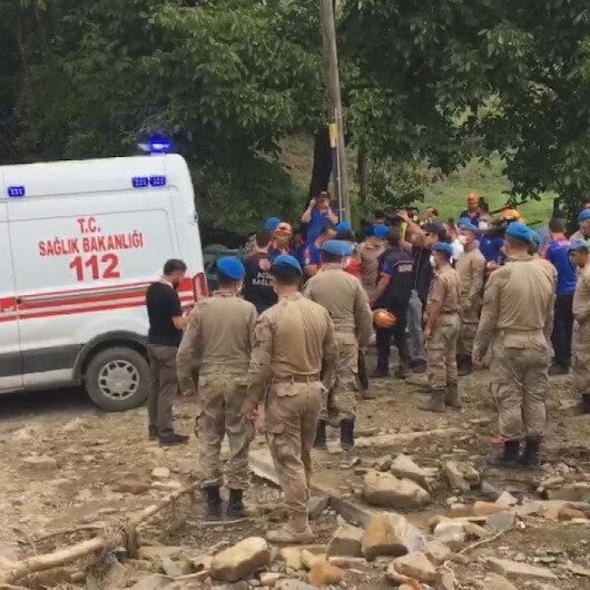 Bartın'da selde kaybolan kadının cansız bedeni bulundu