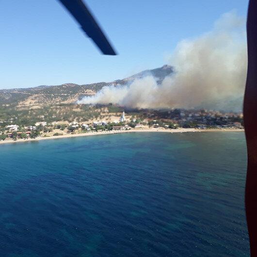 Çanakkale'de aynı bölgede 6'ncı orman yangını: Kontrol altına alındı