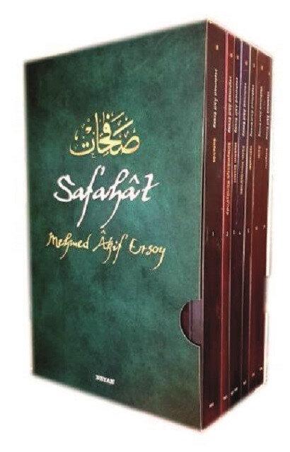 Safahat, Mehmet Akif Ersoy, Furkan Öztürk/A.Vahap Akbaş, Beyan Yayınları, Ağustos 2021, 7 cilt (1118 sayfa)