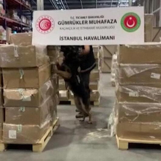 İstanbul Havalimanında büyük operasyon: Uyuşturucu yapımında kullanılan 4,3 ton madde ele geçirildi