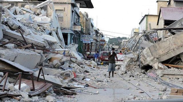 Haiti'de 7,2 büyüklüğünde deprem: Ölü sayısı 1297'ye yükseldi