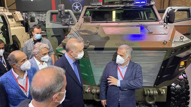 Cumhurbaşkanı Erdoğan bizzat inceledi: Türk savunma sanayiinin yüzde yüz yerli yüzü TÜMOSAN