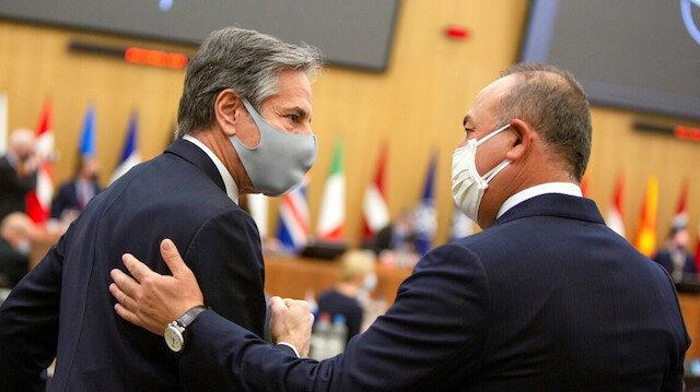 Dışişleri Bakanı Çavuşoğlu ABD'li mevkidaşı Blinken ile Afganistan'daki son durumu görüştü