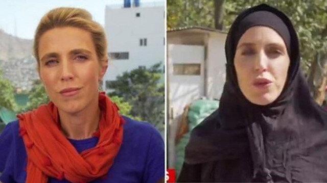 CNN muhabiri Clarissa Ward Taliban sonrası çarşafa girdiği iddiası hakkında ilk kez konuştu