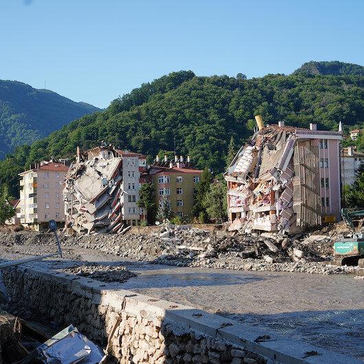 Kastamonu, Sinop ve Bartın'daki 109 bina için acil yıkım kararı