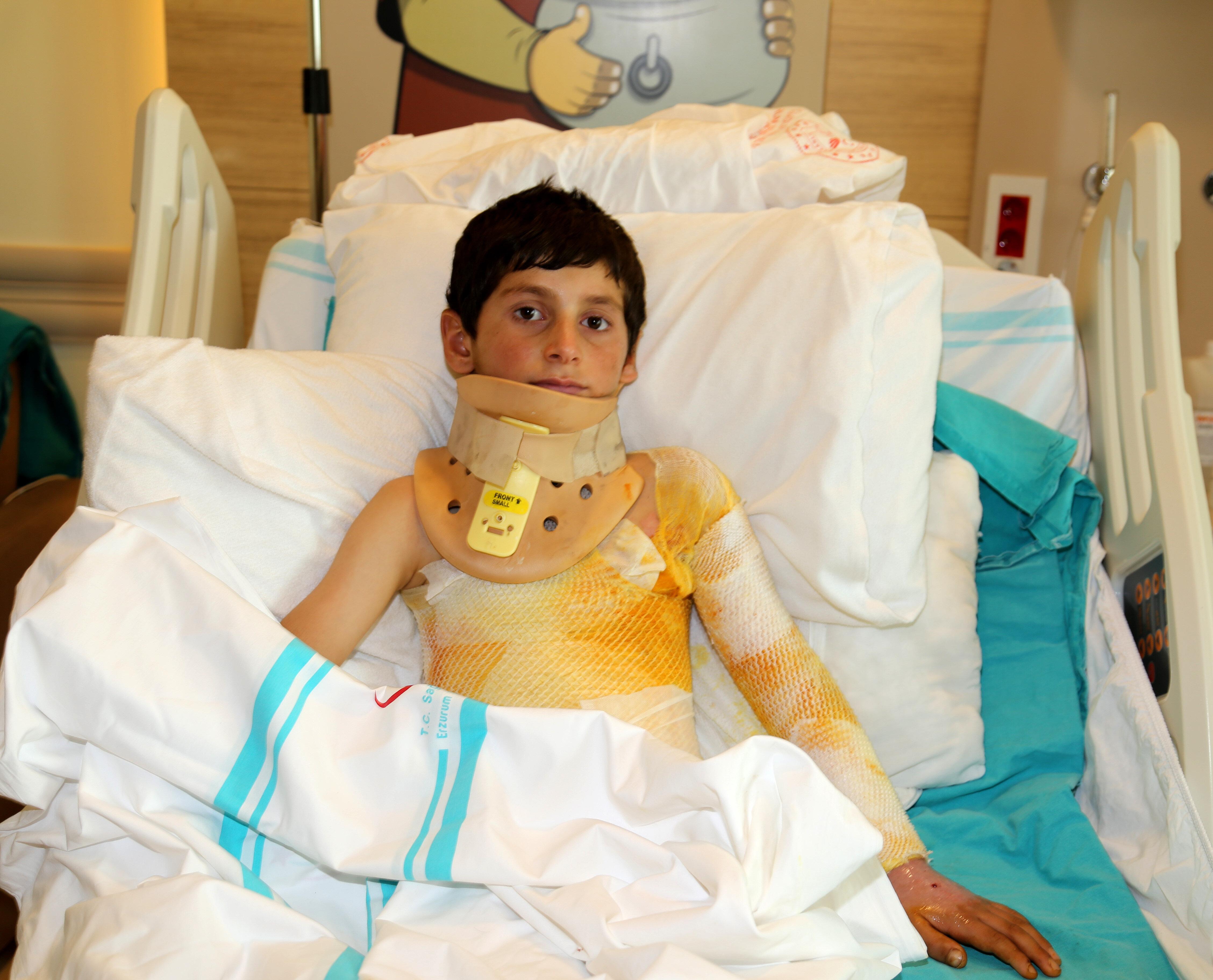 Mert Artan'ın tedavisi devam ediyor.
