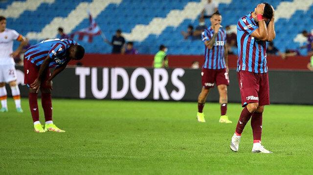 Trabzonspor Roma'ya diş geçiremedi