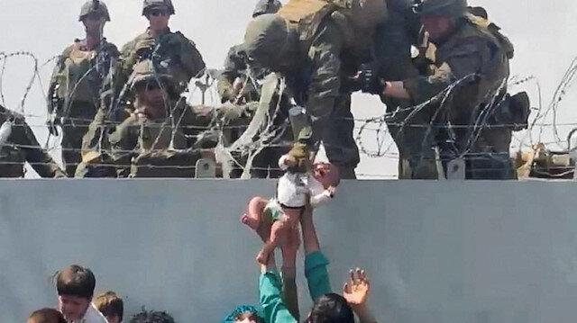 Görüntüler büyük tepki toplamıştı: Pentagon'dan Afgan bebek açıklaması