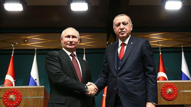 Cumhurbaşkanı Erdoğan ve Rus lider Putin telefonda görüştü