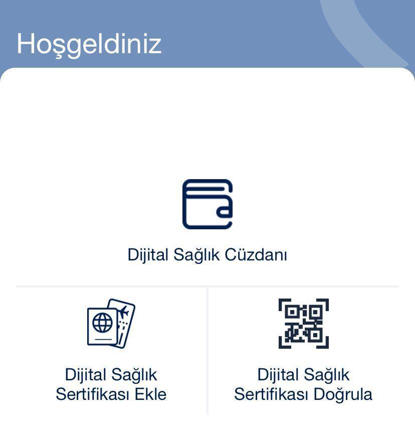 HealthPass uygulamasıyla işlem hızlı bir şekilde gerçekleştirilebiliyor.