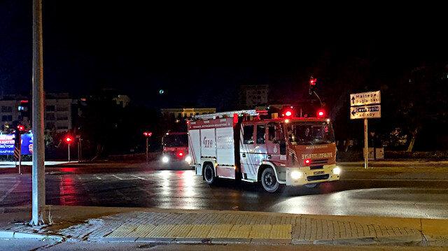 Heybeliada'da korkutan orman yangını
