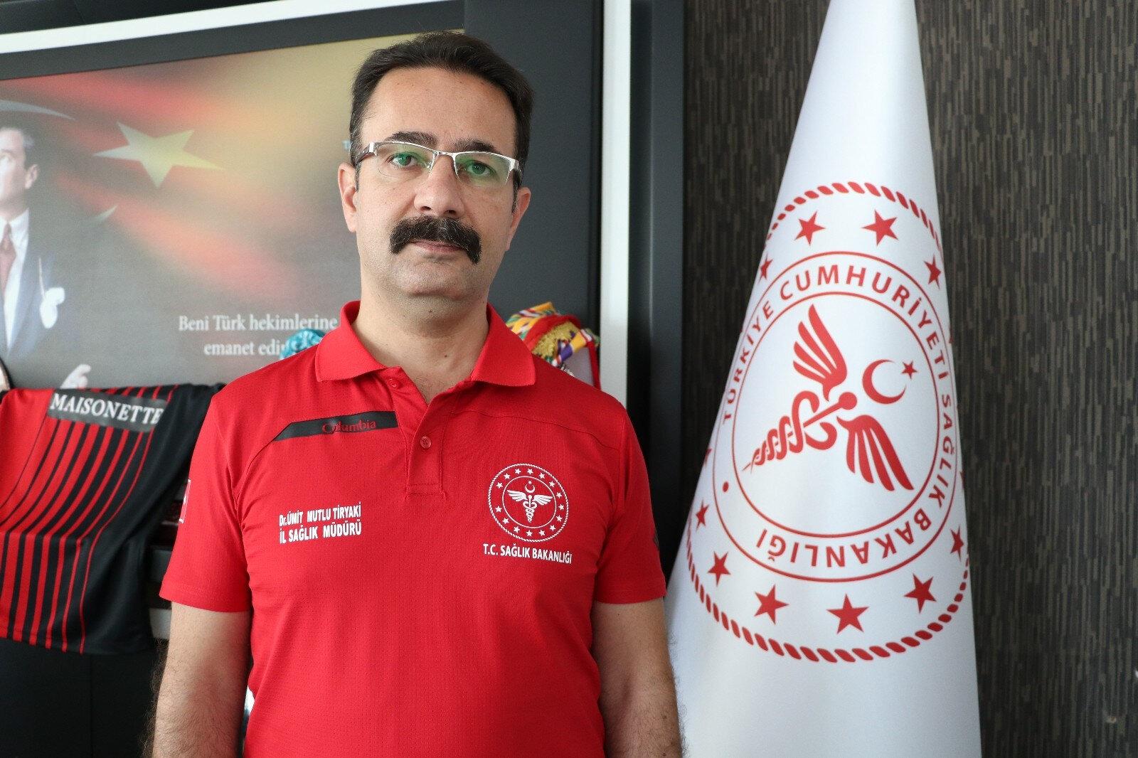 Gaziantep İl Sağlık Müdürü Dr. Ümit Mutlu Tiryaki uyardı: Vakaların yüzde  70'i aşısız - Yeni Şafak