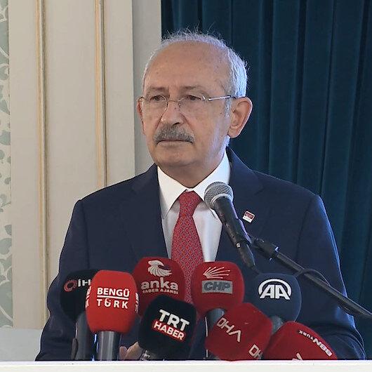 Yalana doymuyor: Kılıçdaroğlu İngilterenin Türkiyede mülteci kampları kuracağı yalanını yineledi