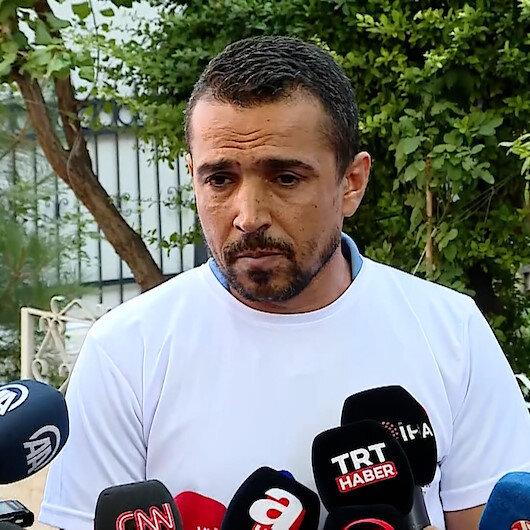 Evlat nöbetini sürdüren Süleyman Aydından HDP Genel Merkezi önünde tokat gibi sözler