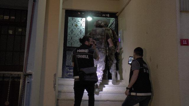İstanbul'da şafak vakti uyuşturucu operasyonu: Çok sayıda adrese baskın düzenlendi