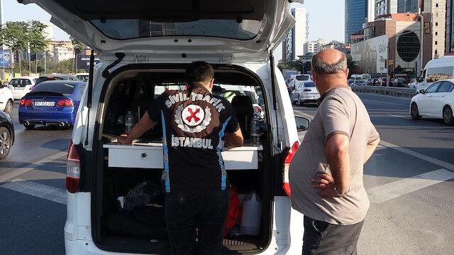 İstanbul'da 'çakarlı araç' denetimi: Kuralları ihlal edenlere ceza kesildi