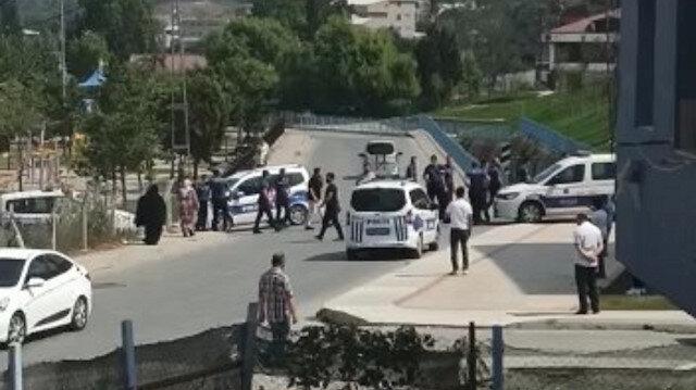 Arnavutköy'de iki aile arasında silahlı kavga