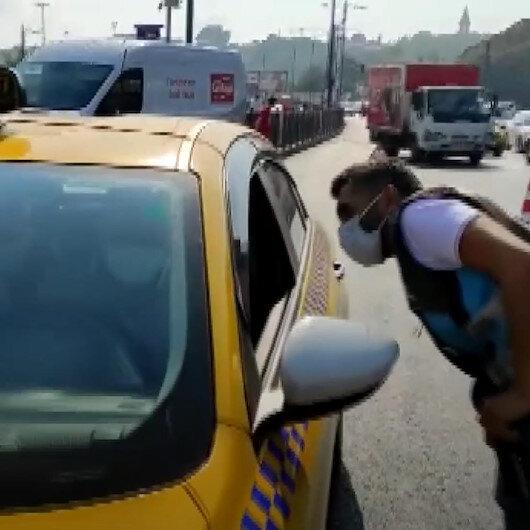 Taksiciler denetimlerden memnun: Fahiş fiyat uygulayanlar ayrılsın bizim de adımız kötüye çıkmasın