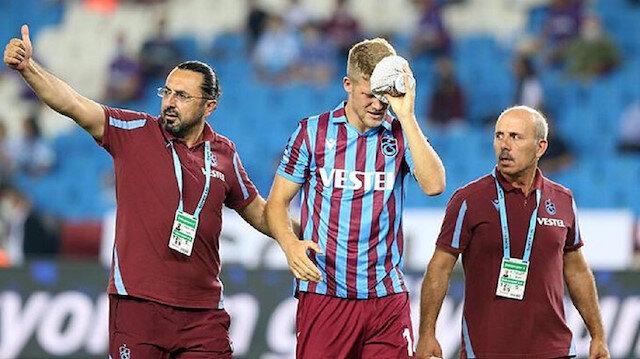 Play-Off maçında taraftarları üzen sakatlık
