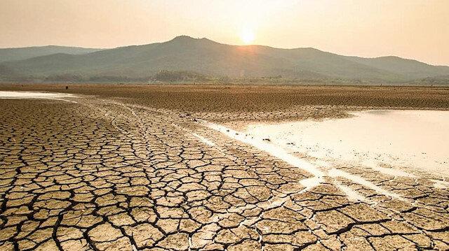 Kuraklık adım adım geliyor: Göllerin yüzde 60'ı kurudu