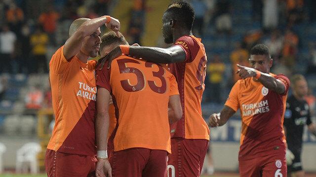 Galatasaray'ın yeni transferi Randers maçında gündem oldu