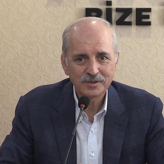 AK Parti Genel Başkanvekili Kurtulmuş: Afetler siyaset alanı değildir