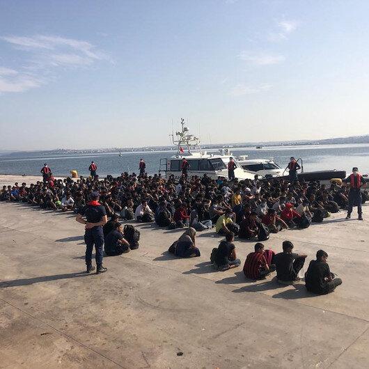 Kaçak göçmene geçit yok: 204 kişi yakalandı