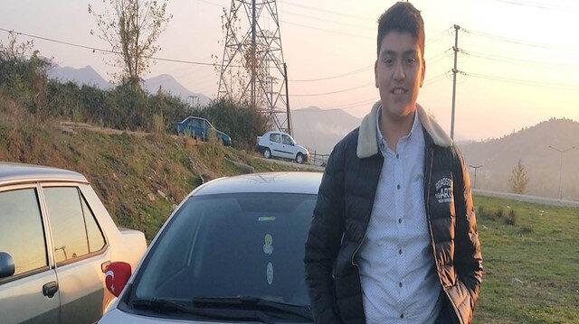 Bartın'da 17 yaşındaki genç yanan araçta can verdi