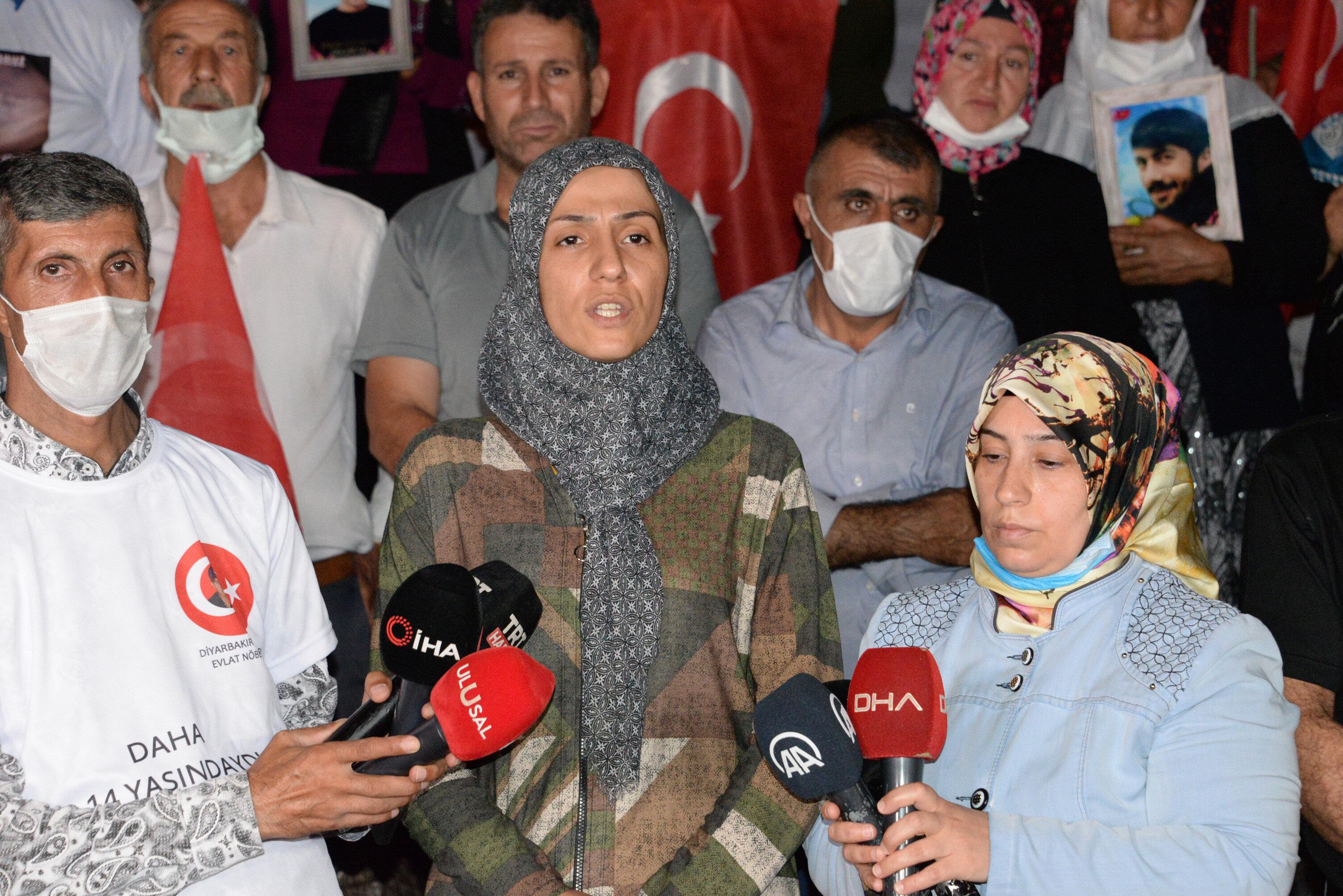Diyarbakır anneleri bir çağrıda bulundu.