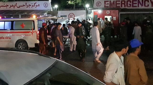 Kabil'de havalimanındaki saldırılarda ölenlerin sayısı 90'a yükseldi