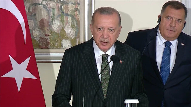 Cumhurbaşkanı Erdoğan'dan Afganistan açıklaması: Ortada terör örgütlerinin çatışması var