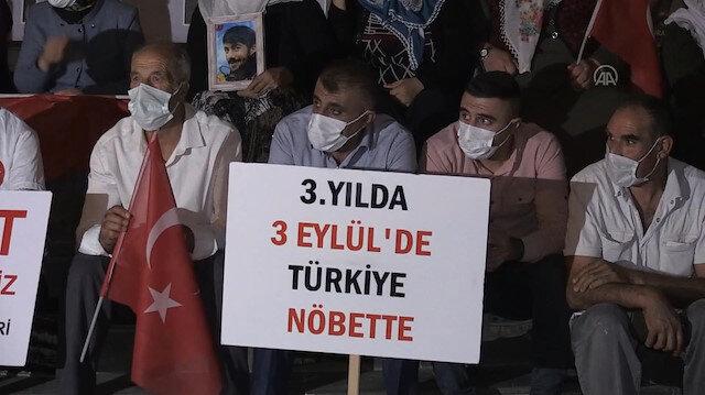 Evlat nöbetini 24 saat tutan ailelerden destek çağrısı: 3 Eylül'de tüm dünyayı ve Türkiye'yi buraya bekliyoruz