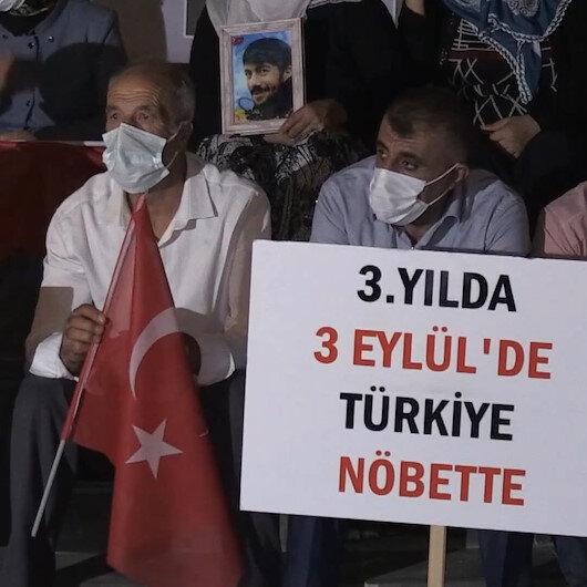 Evlat nöbetini 24 saat tutan ailelerden destek çağrısı: 3 Eylülde tüm dünyayı ve Türkiyeyi buraya bekliyoruz