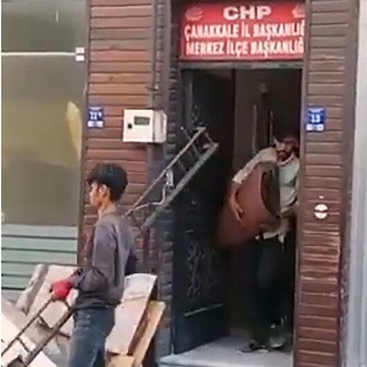 CHP'nin mülteci çelişkisi: Parti binasında çalıştırdılar