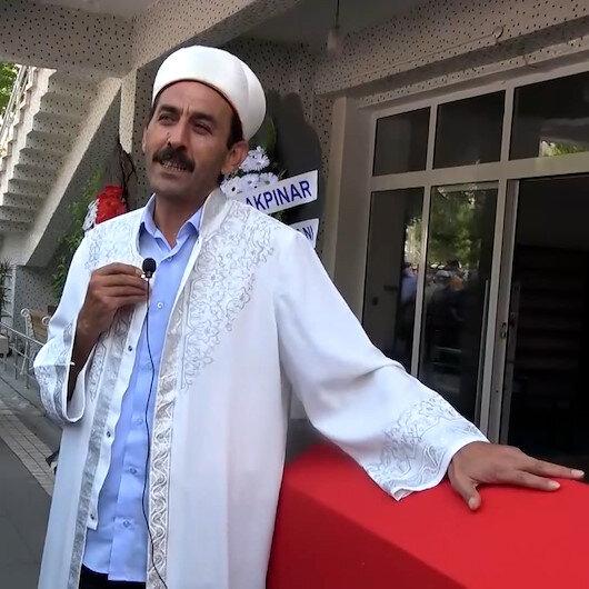 Kazada vefat eden Astsubay Osman Kapusuzun cenaze namazını imam babası kıldırdı