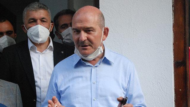 İçişleri Bakanı Soylu: Batılı ülkeler sel nedeniyle hala patinaj yapıyor