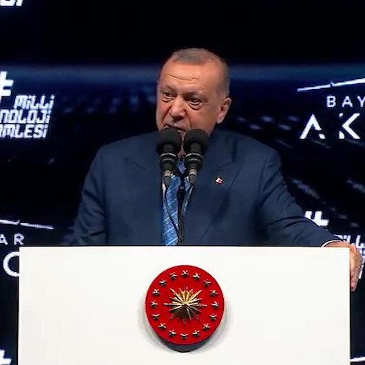 Cumhurbaşkanı Erdoğan: Taarruzi insansız hava aracımız ile Türkiye bu teknolojide dünyanın en ileri 3 ülkesinden biri oldu