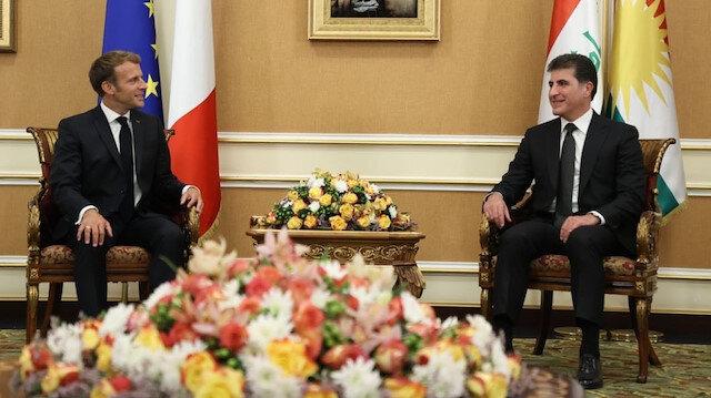 مکرون از عراق پیام داد: مبارزه با داعش را ادامه دهید