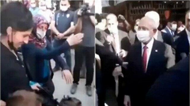 Çorum'da Kılıçdaroğlu'na tepki gösteren kadın konuştu: Sebebi HDP ile ittifak