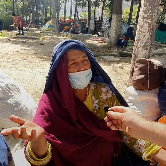 Afganlar kendi ülkelerinde de mülteci: Yeni Şafak parkta çadır kuran ailelerle konuştu