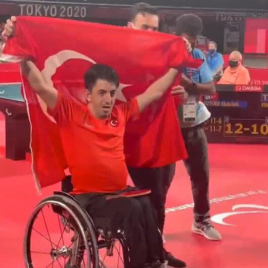 Paralimpik Oyunları'nda ilk altın madalya Abdullah Öztürk'ten