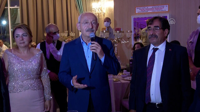 Kılıçdaroğlunun düğünde anlattığı fıkraya kimse gülmedi