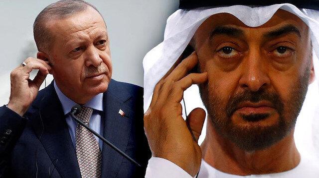 Cumhurbaşkanı Erdoğan'la görüşme sonrası BAE'den Türkiye açıklaması